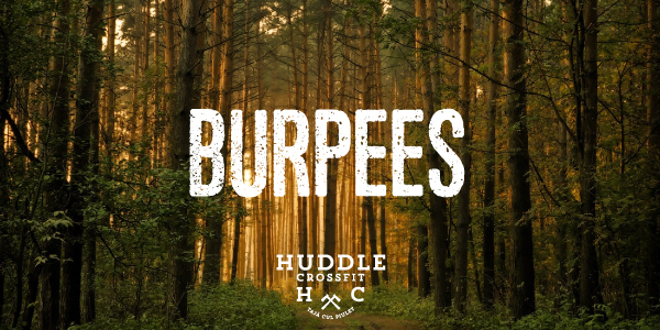 burpees visual huddle crossfit