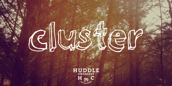 cluster visual huddle crossfit