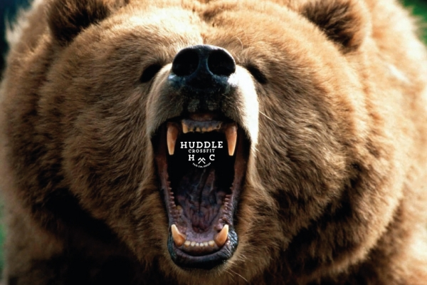 bear complex visual huddle crossfit