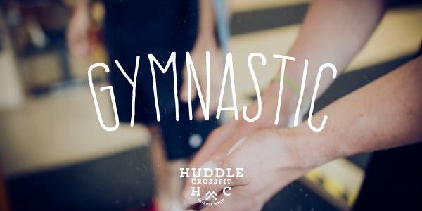 gymnastic huddle crossfit ginnastica visual