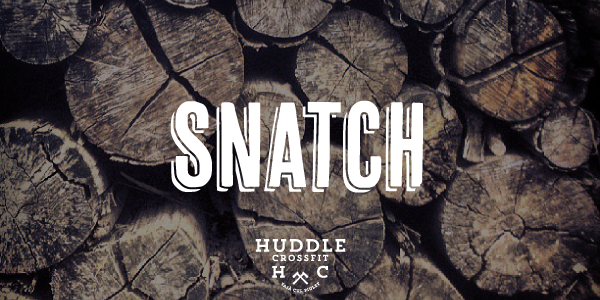 snatch visual huddle crossfit