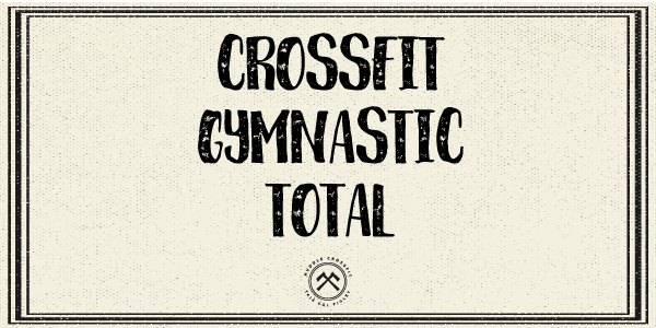 crossfit gymnastic total visual