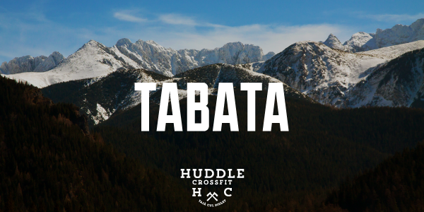 tabata visual huddle crossfit