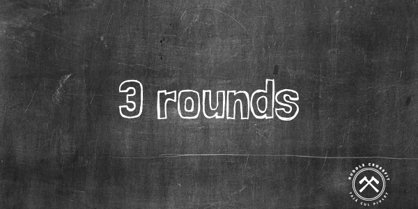 3 rounds huddle crossfit visual