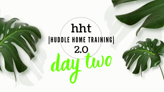 HHT-2.0 DAY TWO